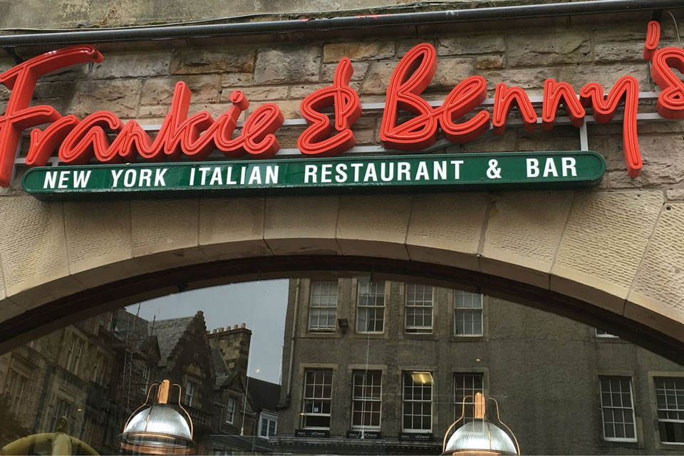frankie and bennys nhs discount