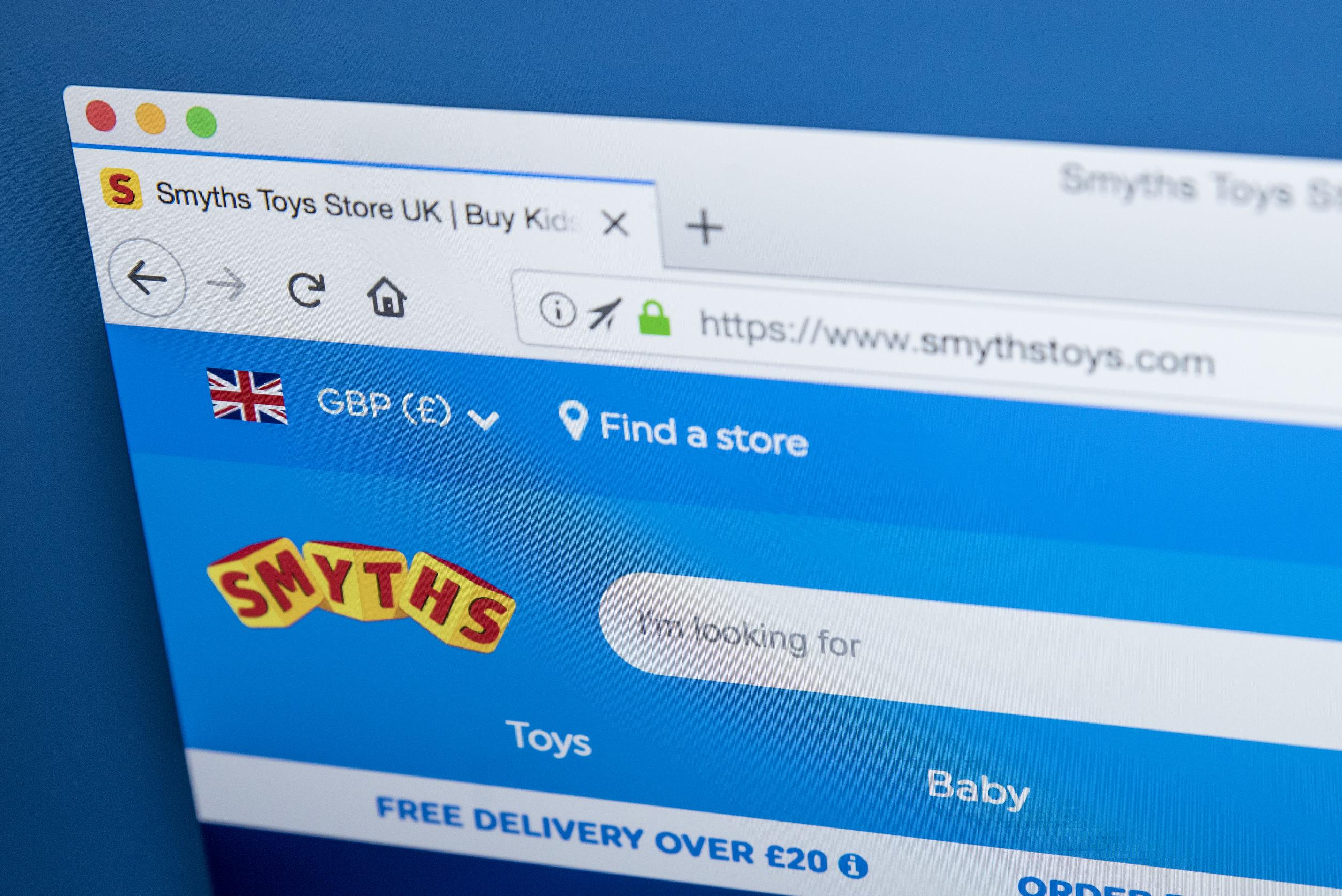smyths toys nhs discount